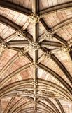 Arched ceiling Stock Images