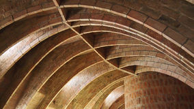 Arched ceiling Stock Photography