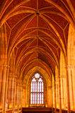Arched ceiling of  church Royalty Free Stock Photo