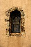 Arched church window Stock Images