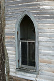 Arched church window1 Stock Photography