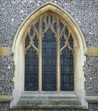 Arched Church Windows Royalty Free Stock Image