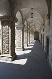 Arched Cloister Stock Photography