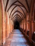 Arched cloister Royalty Free Stock Photo