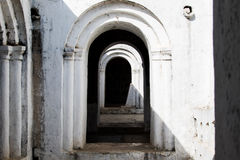 Arched Contrasting Doorway Stock Images