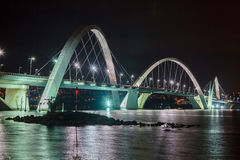 JK Bridge Brasilia Royalty Free Stock Photos