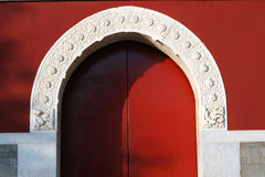Arched door Stock Images