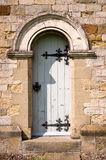 Arched Door - All Saints Church-Village of Hovingham Royalty Free Stock Image