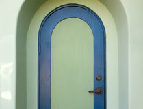 Arched door in the American Southwest Royalty Free Stock Photography