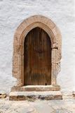Arched door Stock Image