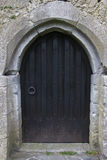 Arched door detail, Aughnanure Castle, near Oughterard Stock Photos