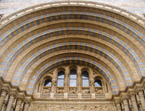 An arched door of the London museum Royalty Free Stock Photography