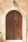 Arched door Royalty Free Stock Photo