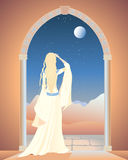 Arched doorway Royalty Free Stock Photography