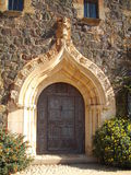 Arched Doorway Of Cap Roig Royalty Free Stock Photo