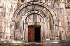Arched doorway at the church of The Holy Sign of The Cross Royalty Free Stock Image