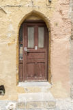 Arched doorway in the old town Rhodes Greece Stock Image