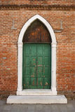 Arched Doorway in Venice Royalty Free Stock Photos
