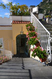 Arched Doorway in the Village of Positano Italy Royalty Free Stock Image
