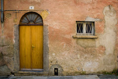 Arched doorway and window Royalty Free Stock Photography