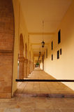 Arched doorways of Entrance of the Palace of Mohamed 6 in Rabat, Royalty Free Stock Images