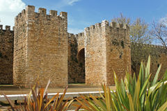 Arched entraceway in Lagos, Algarve, Portugal Royalty Free Stock Photo