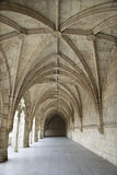 Arched Exterior Hallway of Monastery of Jeronimos Stock Photography