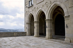 Arched facade Royalty Free Stock Photo