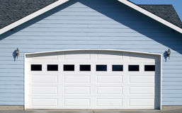 Arched Garage Door Opening Stock Photography
