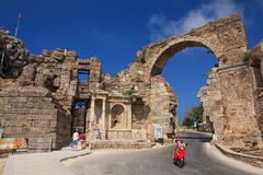 Arched Gate Side. Turkey. Stock Photography
