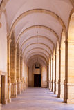 Arched hall - architectural detail. Stock Photography