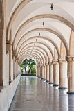 Arched hallway Stock Photography