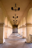 Arched Hallway Stock Image