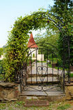 Arched Iron Gateway Royalty Free Stock Image