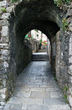 Arched passage in the Old City Stock Photography