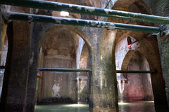 Arched pool - an ancient reservoir for drinking water Stock Image