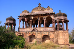 Arched temple at Ranthambore Fort, India Royalty Free Stock Image