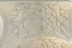 Arched vault ceiling Royalty Free Stock Photos