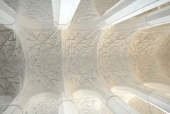 Arched vault ceiling Royalty Free Stock Photography