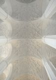 Arched vault ceiling Stock Photography
