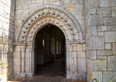 Arched vault entrance Stock Image