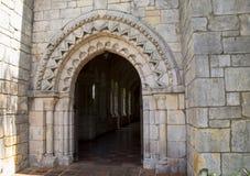 Arched vault entrance Stock Image
