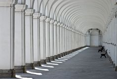 Arched Walkway Stock Photos