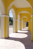 Arched walkway Stock Photography
