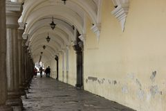 Arched Walkway Stock Image