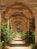 Arched Walkway Royalty Free Stock Image