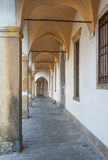 Arched walkway in Padova Royalty Free Stock Image