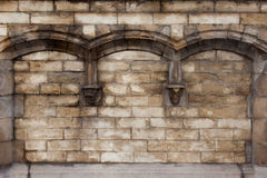 Arched wall Royalty Free Stock Image