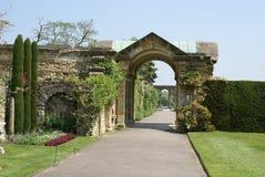 Arched way at the garden of Hever castle in Hever near Edenbridge, Kent, England Stock Photos