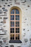 Arched Window of a Church Royalty Free Stock Photography